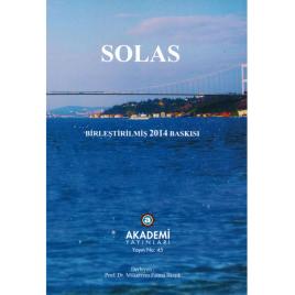 SOLAS - Birleştirilmiş 2014 Baskısı - Mütercim: Mükerrem Fatma İlkışık