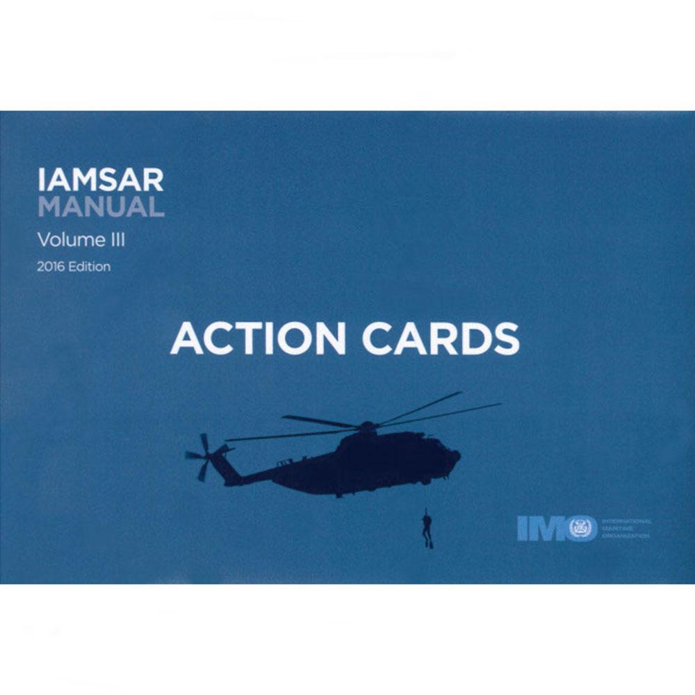 IAMSAR Manual Volume III Action Cards  - 2019 Edition