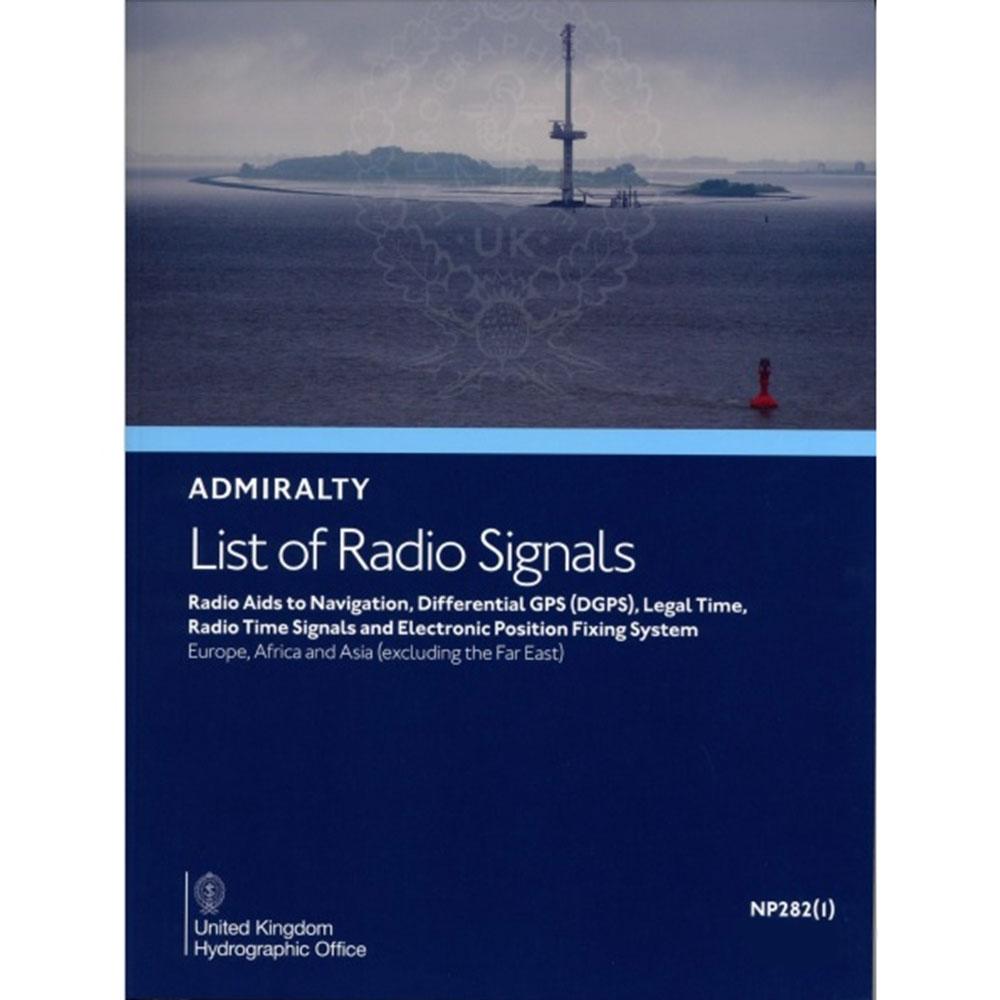 NP282(1) - List of Radio Signals,Vol.2 Part 1 - 2 nd 2021