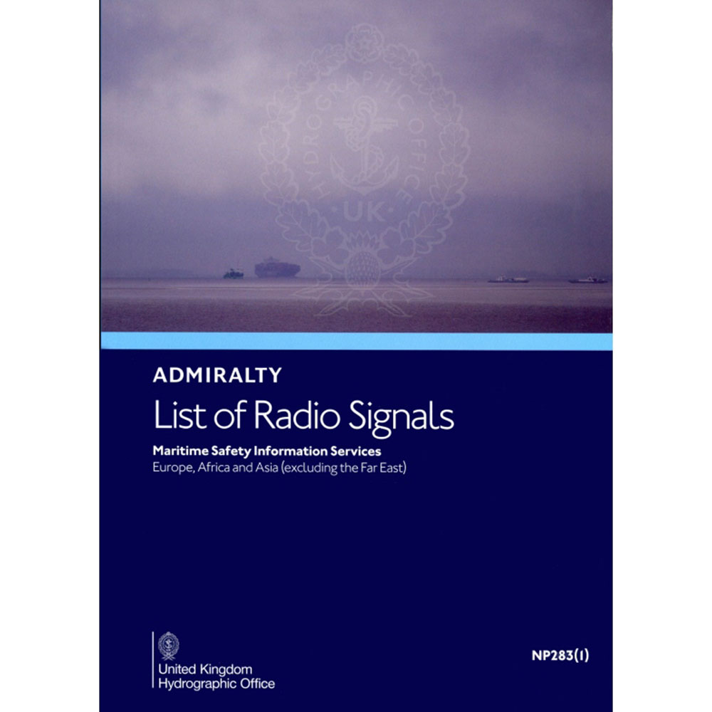 NP283(1) - List Radio Signals Vol 3 (Part 1)  Europe,Africa,Asia (including far east) - 2020