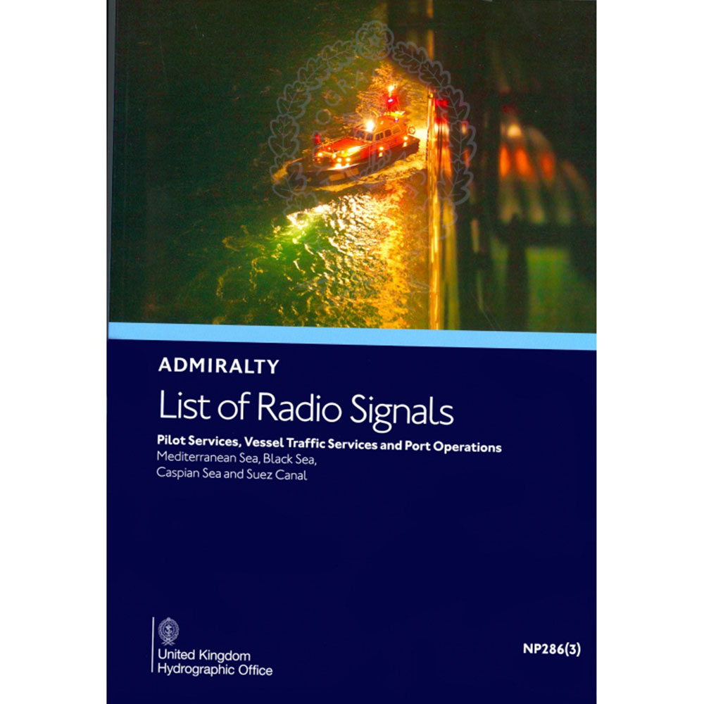 NP286(3) - Radio Signals Vol 6 Pt 3 Med Sea, Black Sea and Suez Canal - 2 nd 2021