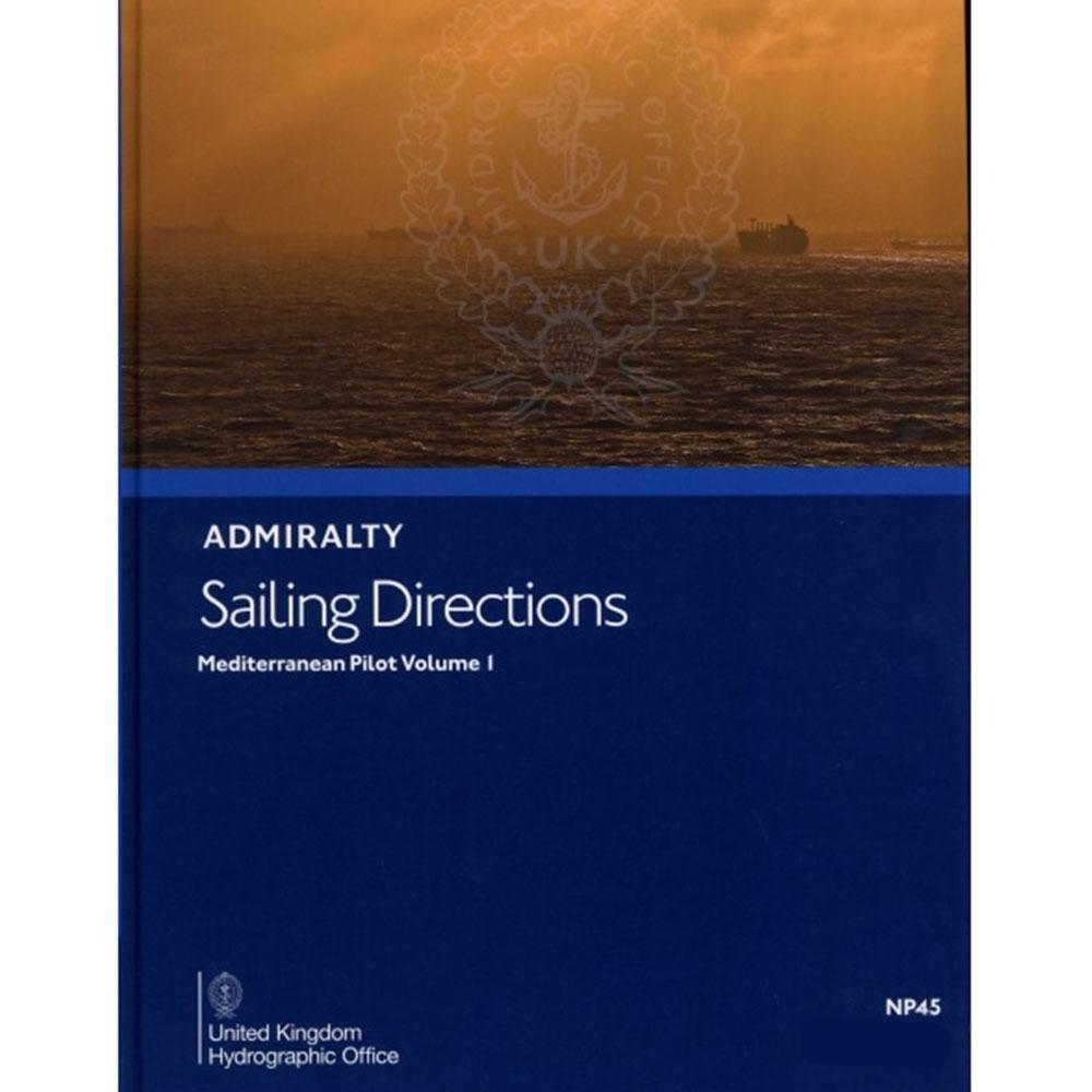 NP45 - Mediterranean Pilot Vol 1  - 16TH (2018)