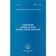 Türkiye'de Güneş ve Ayın Doğuş- Batış Vakitleri