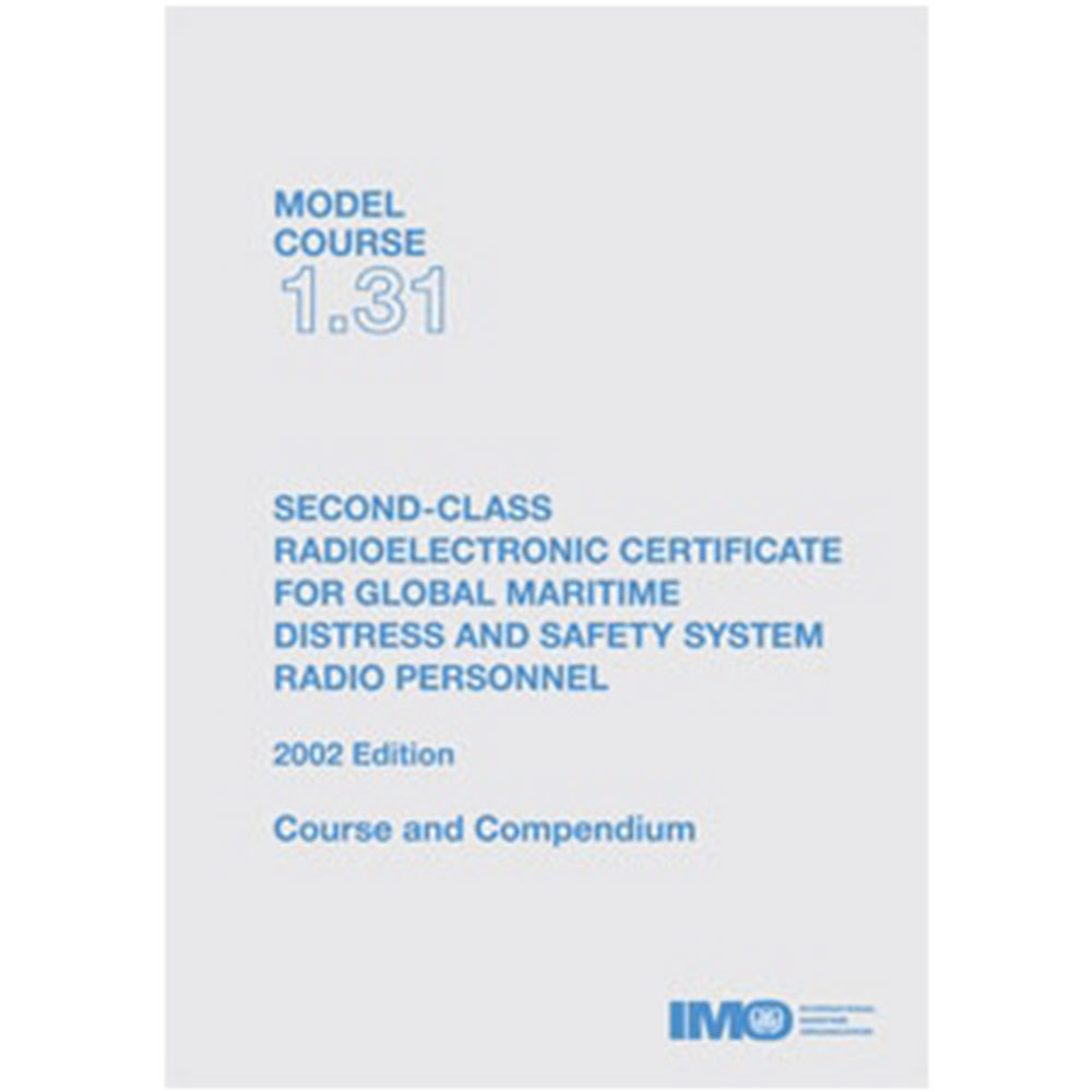 2nd Class Radioelectronic Certificate for GMDSS